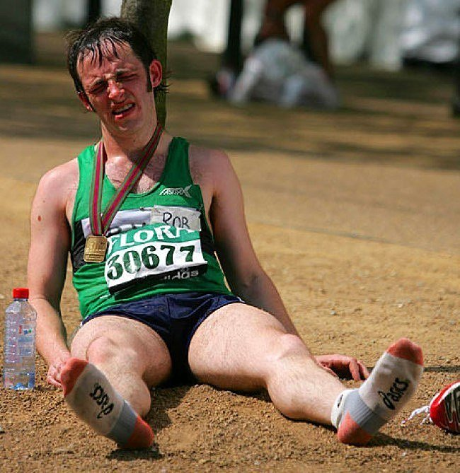 exhausted runner pictures - 466×480